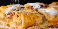 Apple strudel: Autumn's perfume
