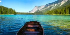 The Alpine Lake of Tovel