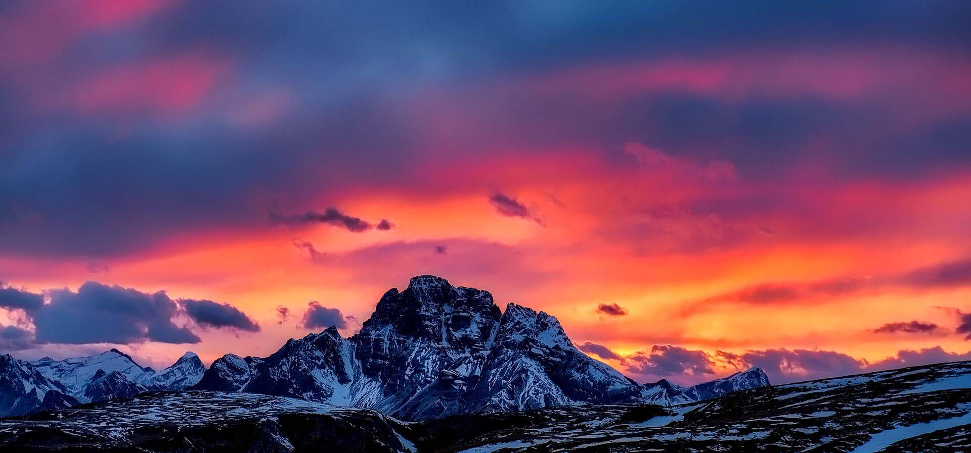 Lago, Tovel, on the road, road, Trentino, dolomiti, Lac, alpin, lake, Dolomites