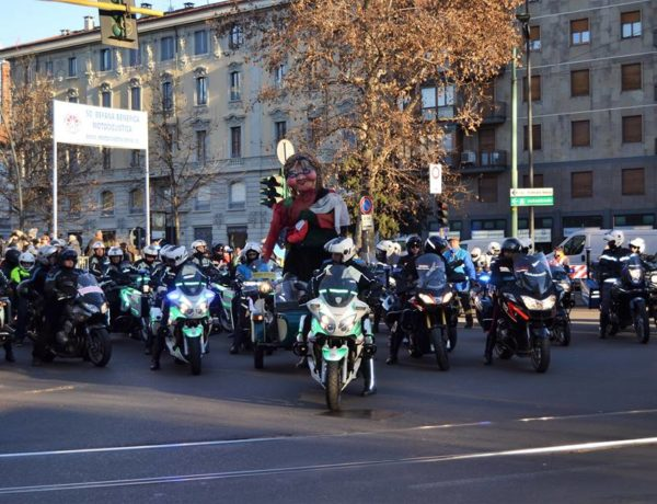 The Befana Motorcycle Benefit is about to start again Let's turn on the engines!