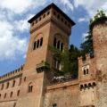 Castle of Gabiano in Piedmont