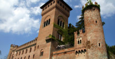 Castle of Gabiano in Piedmont