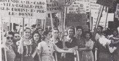 Why is a women's day celebrated in Italy?
