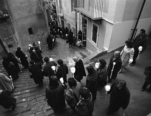 The Representation of the Passion Holy Week in San Pier Niceto