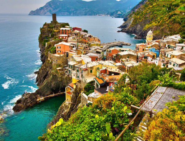 Les Cinque Terre: un paradis pour l'UNESCO en Italie
