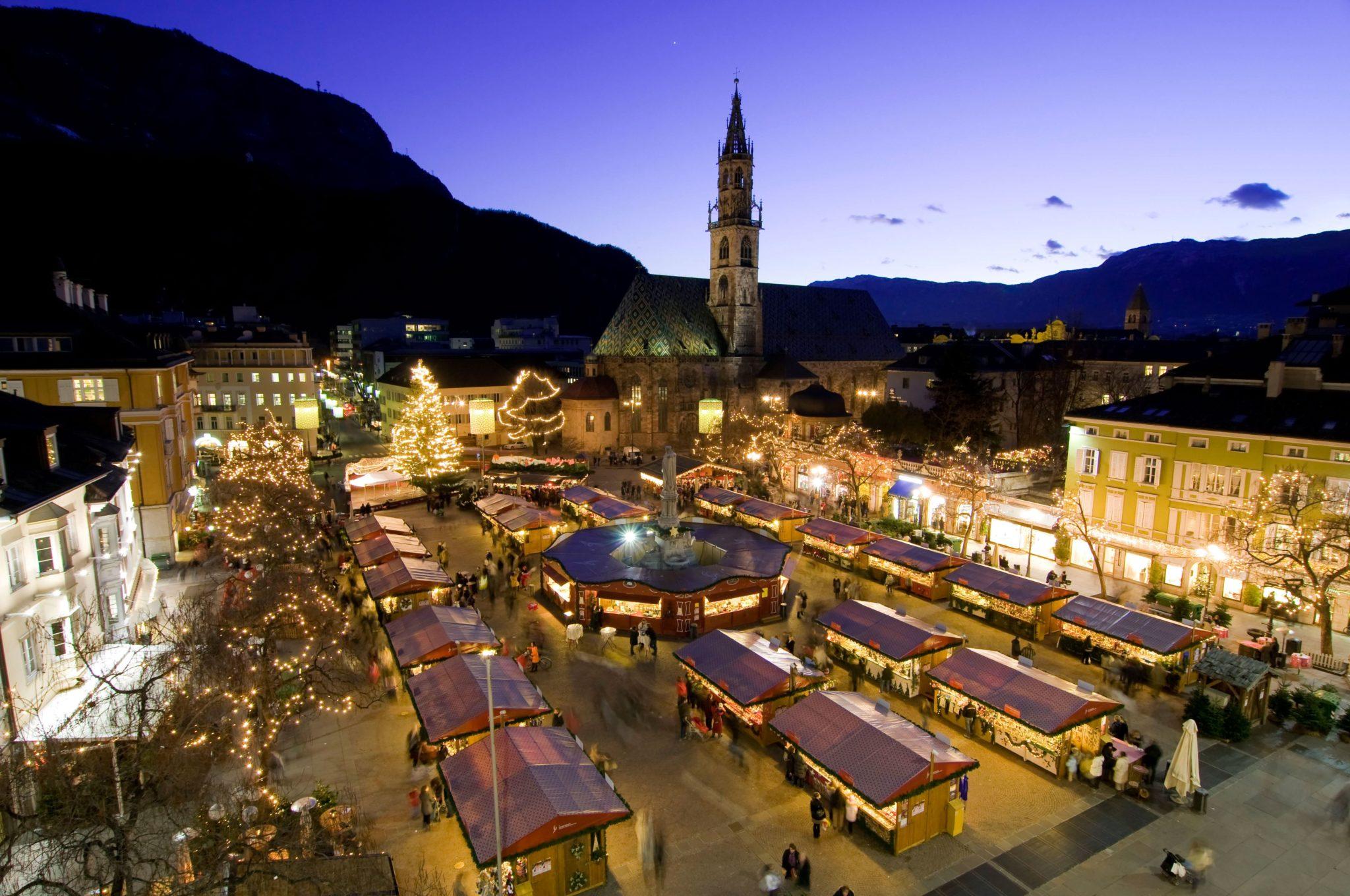 mercatini, natale, italia, bolzano, christmas, market