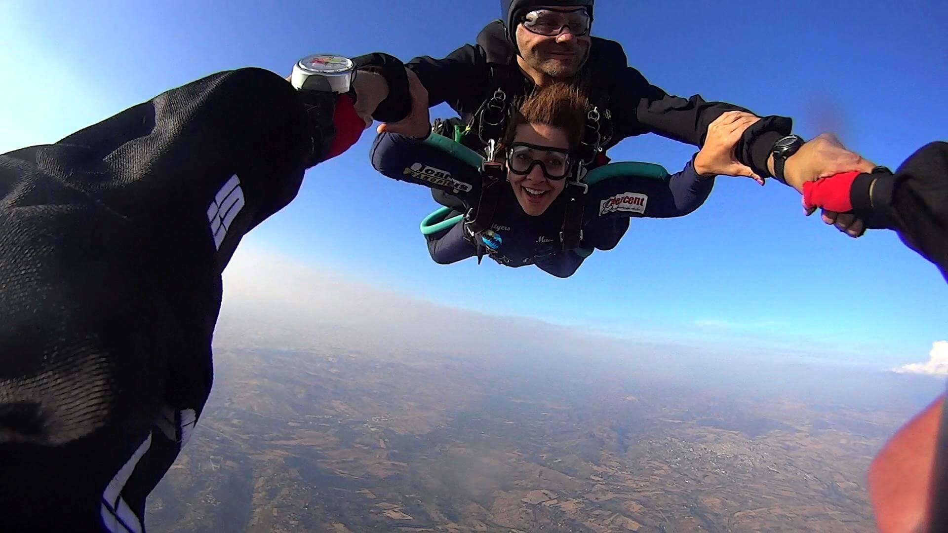 parachutisme en italie