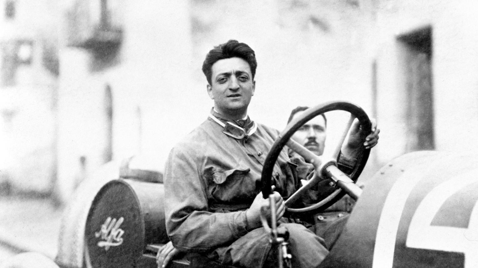 Enzo Ferrari The History Of A Legend