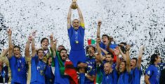 Italy won the Soccer world cup in 2006