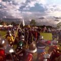 The famous battle of Scannagallo, Pozzo della Chiana