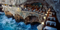 The best three Restaurants on the Mediterranean Sea