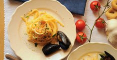 Spaghetti mussels and clams: between sea and tradition
