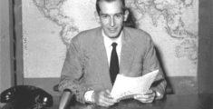 El primer telediario italiano – Rai 1952