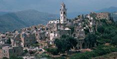 The ancient village of Bussana Vecchia