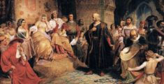 Cristoforo Colombo discovers America: 12th October