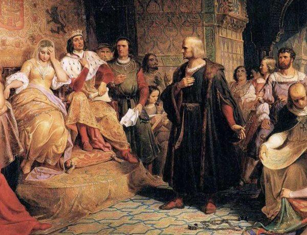 Cristoforo Colombo scopre l'America. Era il 12 ottobre