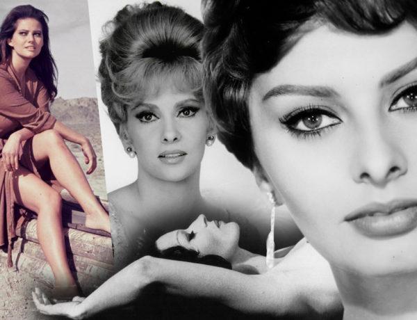 5 female icons of Italian cinema