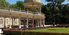 Boario terme: an Italian spa complex