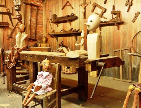 """The birth of Carlo Collodi, author of """"Pinocchio"""""""