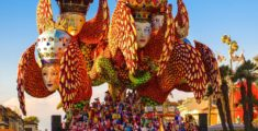 Viareggio Carnival, one of the best in Italy