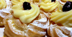 Zeppole of San Giuseppe: Italian cakes for father's day