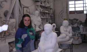Arte contemporanea: Leonetta Marcotulli cittadina onoraria, una vita vissuta a 100 all'ora