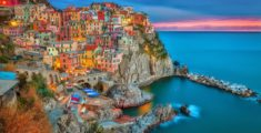 Italian tourist locations: Cinque Terre (Five Lands), among the destinations for short trips or long weekends